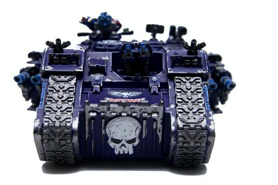 Land Raider, Skull, Space Marines