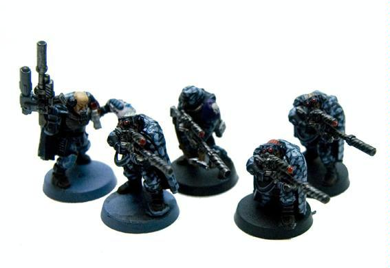 Scouts, Snipers, Space Marines