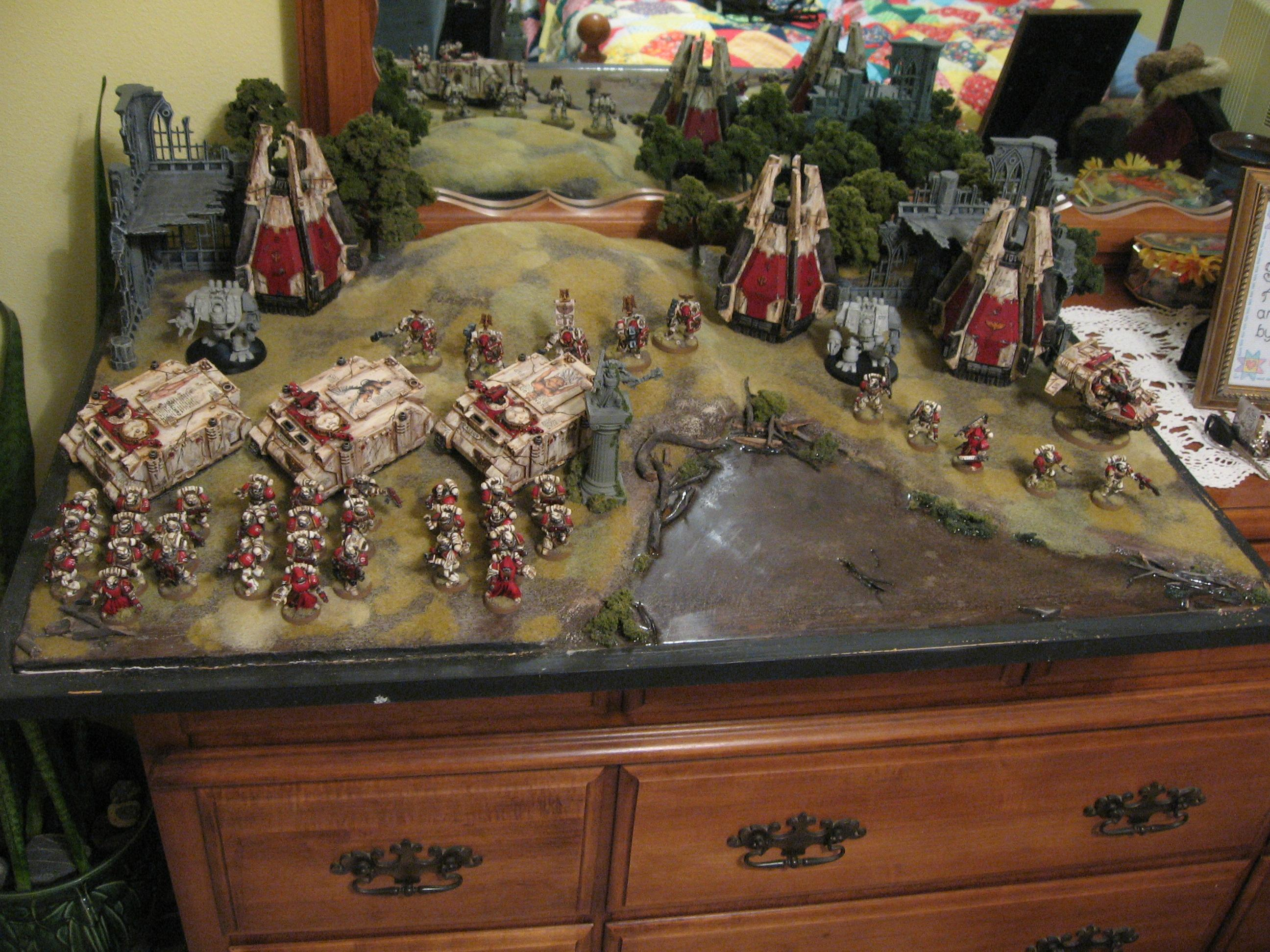 Army, Freehand, Space Marines, Warhammer 40,000