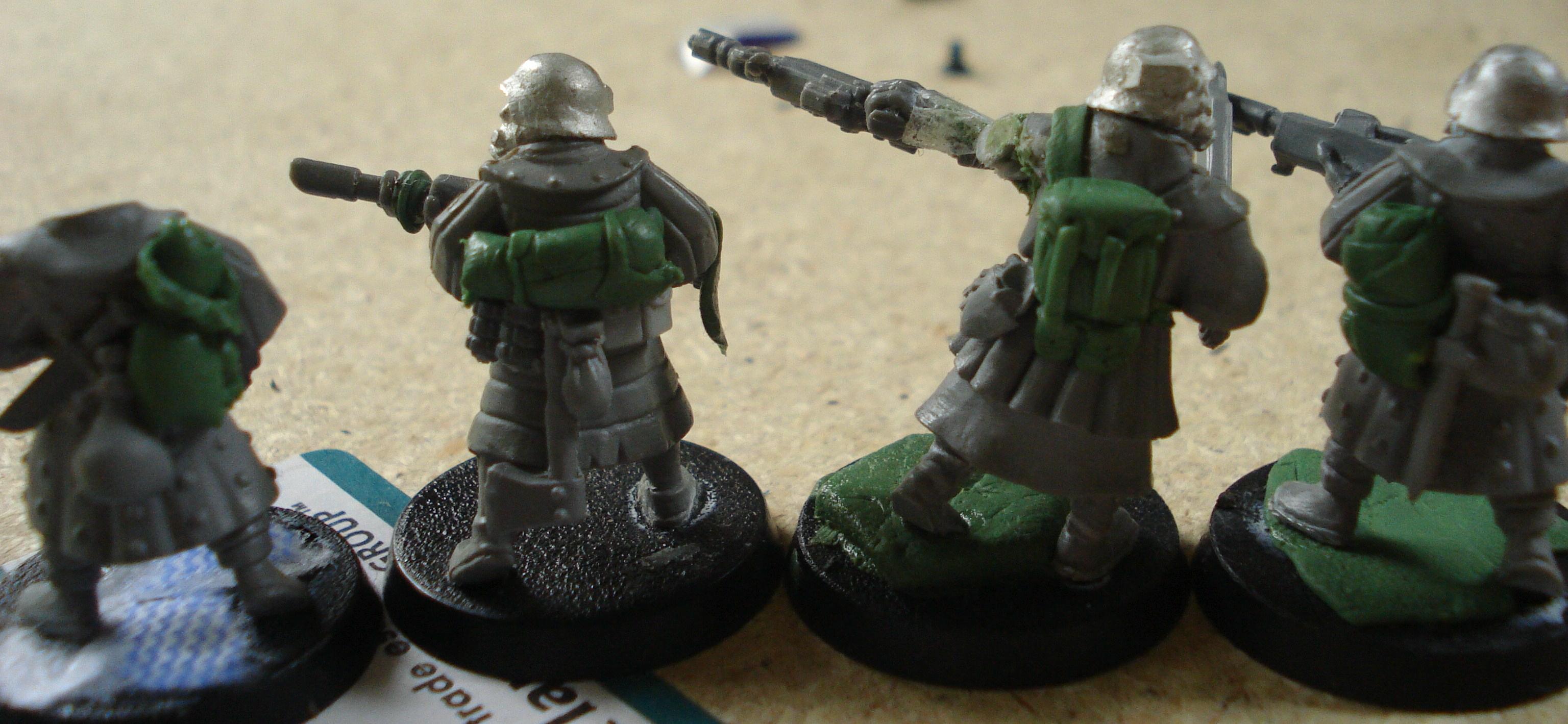 Bretonnians, Imperial Guard, Warhammer 40,000