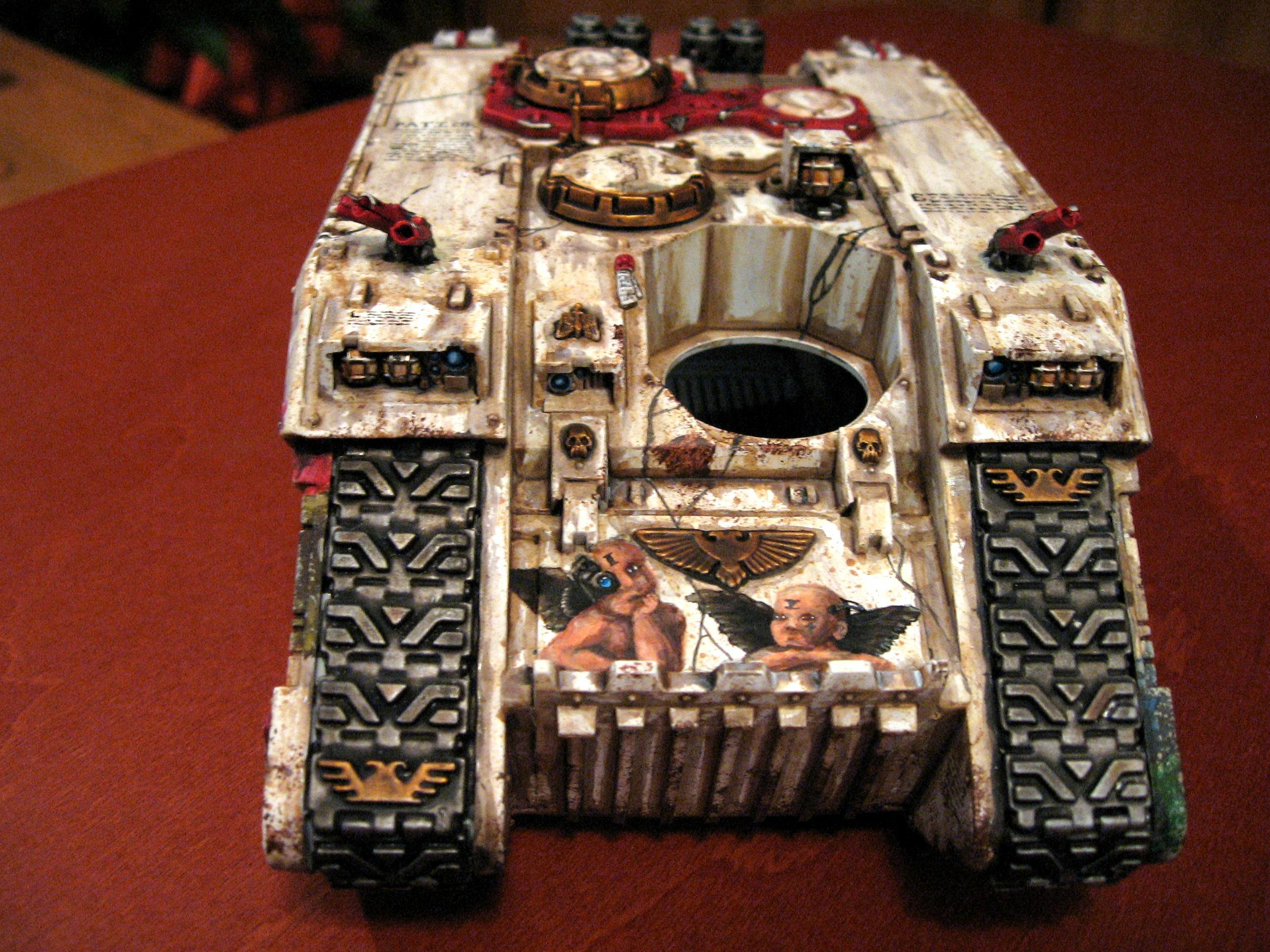 Freehand, Land Raider, Space Marines, Tank, Transport, Warhammer 40,000