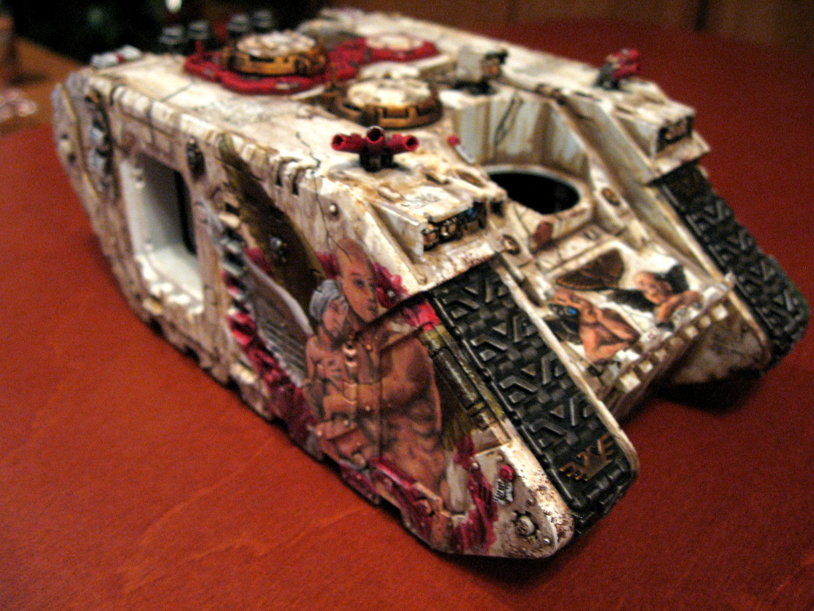 Freehand, Land Raider, Space Marines, Warhammer 40,000