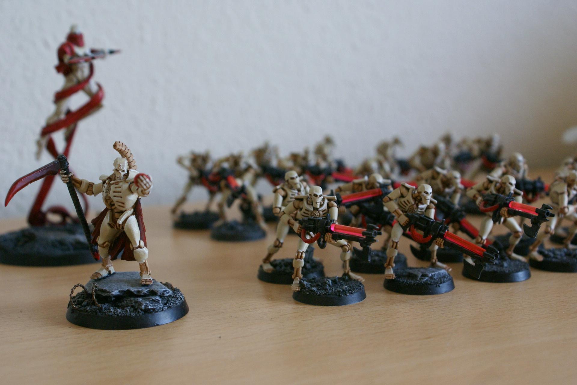 Bone, Necron Lord, Necron Warriors, Necrons