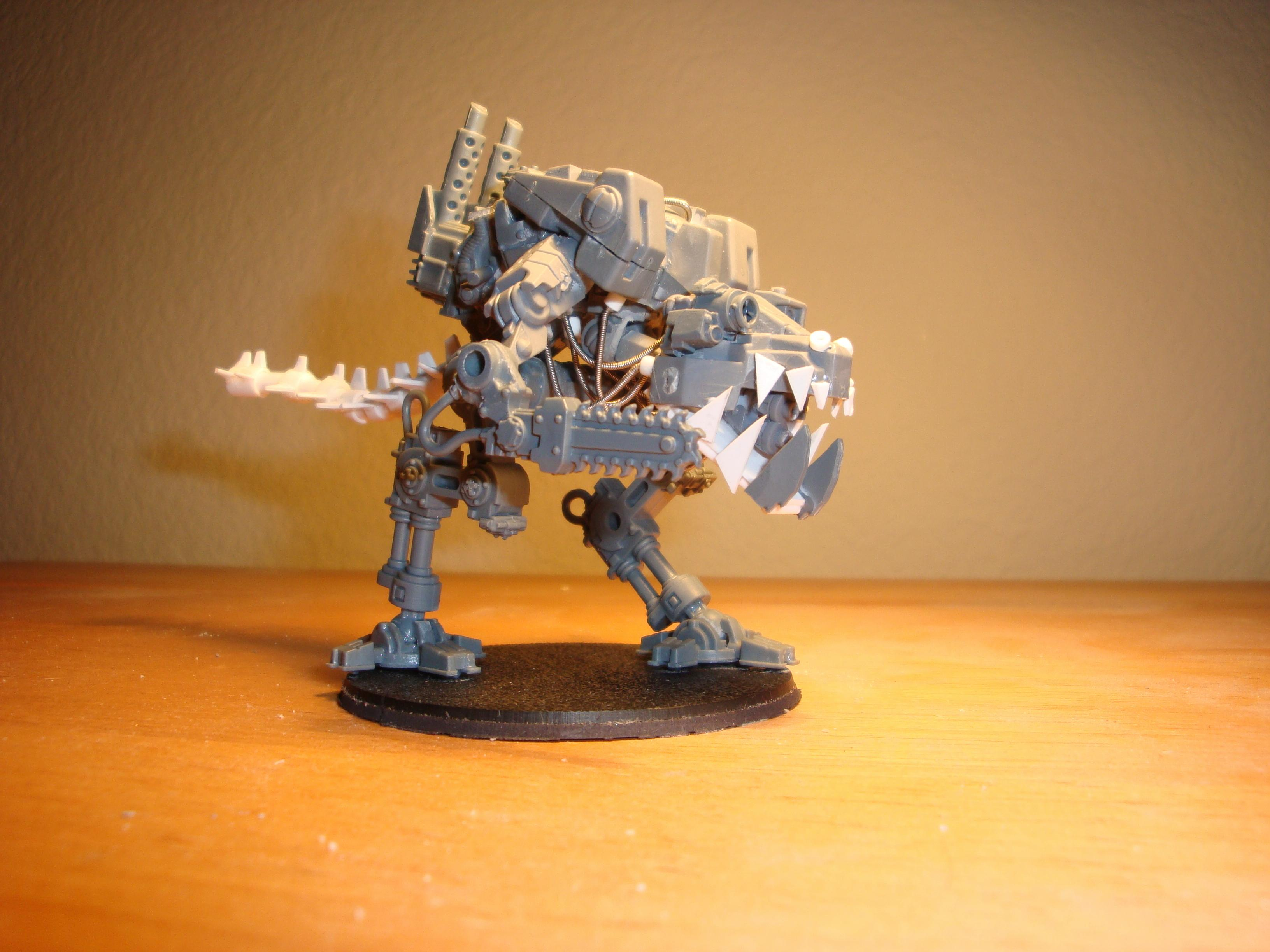 Chaos, Chaos Space Marines, Dreadnought, Scratch Build, Warhammer 40,000