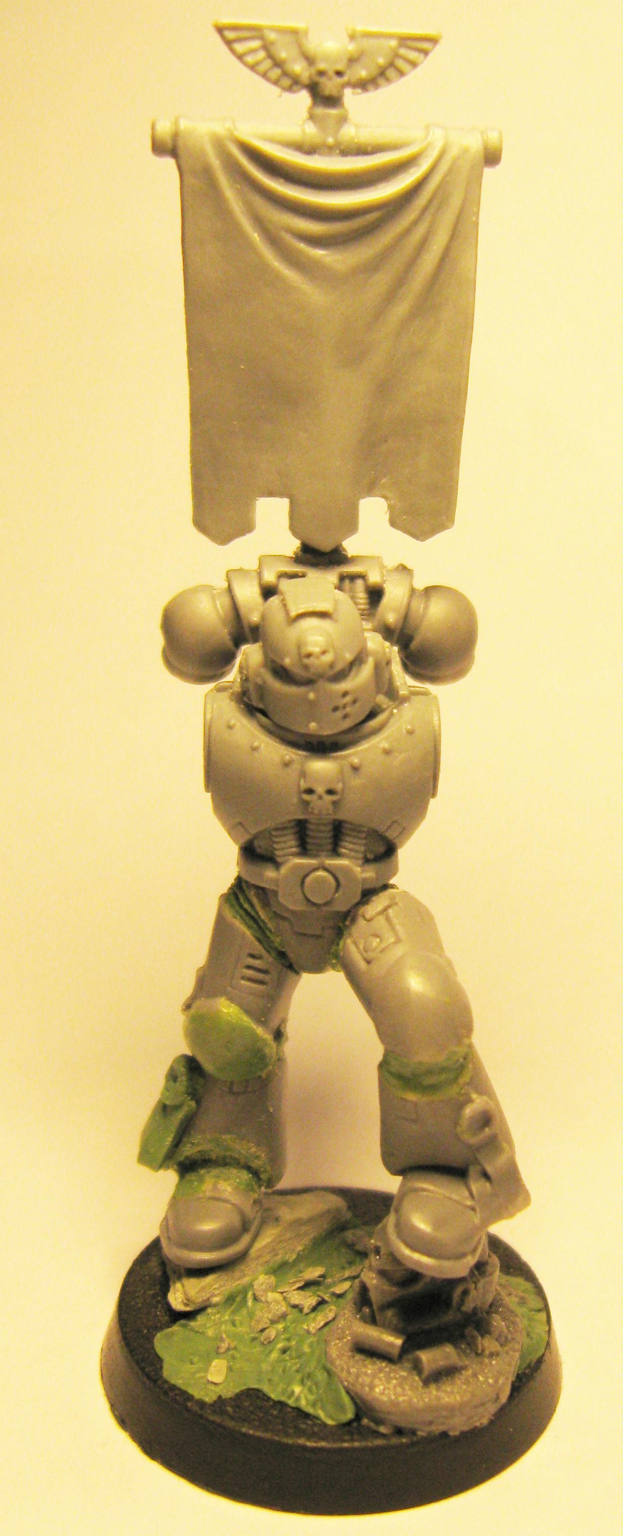 Conversion, Space Marines, Warhammer 40,000, Work In Progress