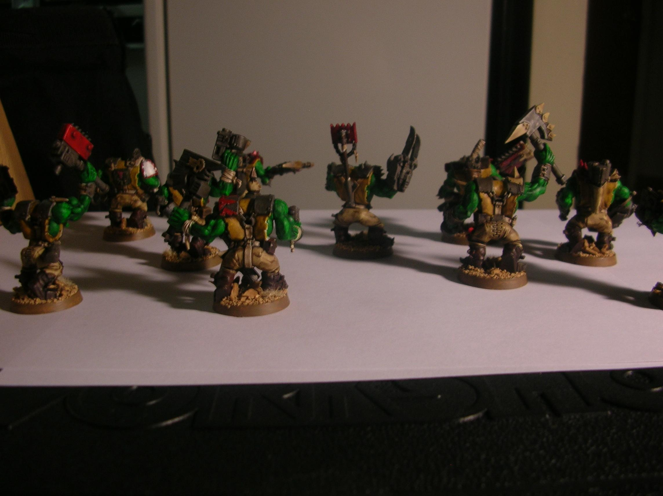 Assault On Black Reach, Big Choppa, Desert, Dezz'urt Ratz, Nob, Orks, Painboy, Plastic, Power Klaw, Rats