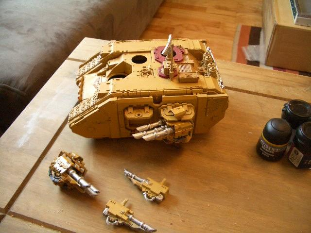 Imperial Fists, Space Marines, Warhammer 40,000, Work In Progress, Yellow Space Marines
