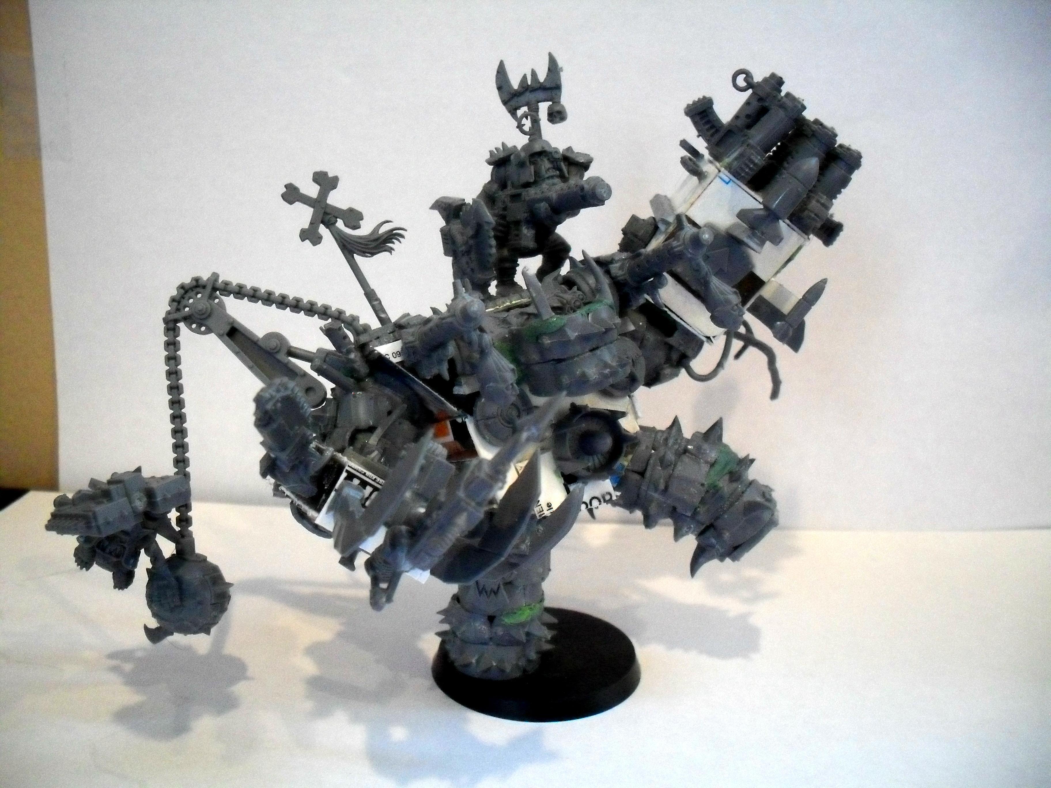Boss, Mega-armor, Orks