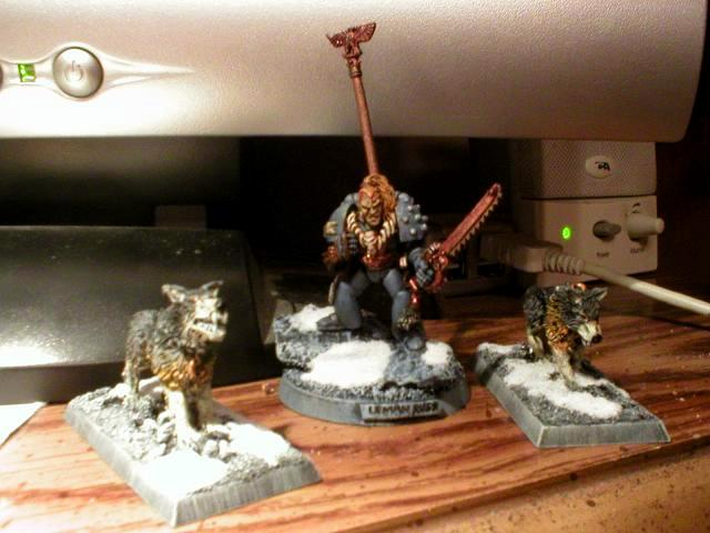 Leman, Out Of Production, Rogue Trader, Russ, Space Marines, Space Wolves, Warhammer 40,000