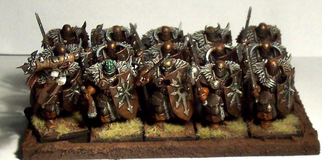 Chaos, Nurgle, Warhammer Fantasy, Warriors