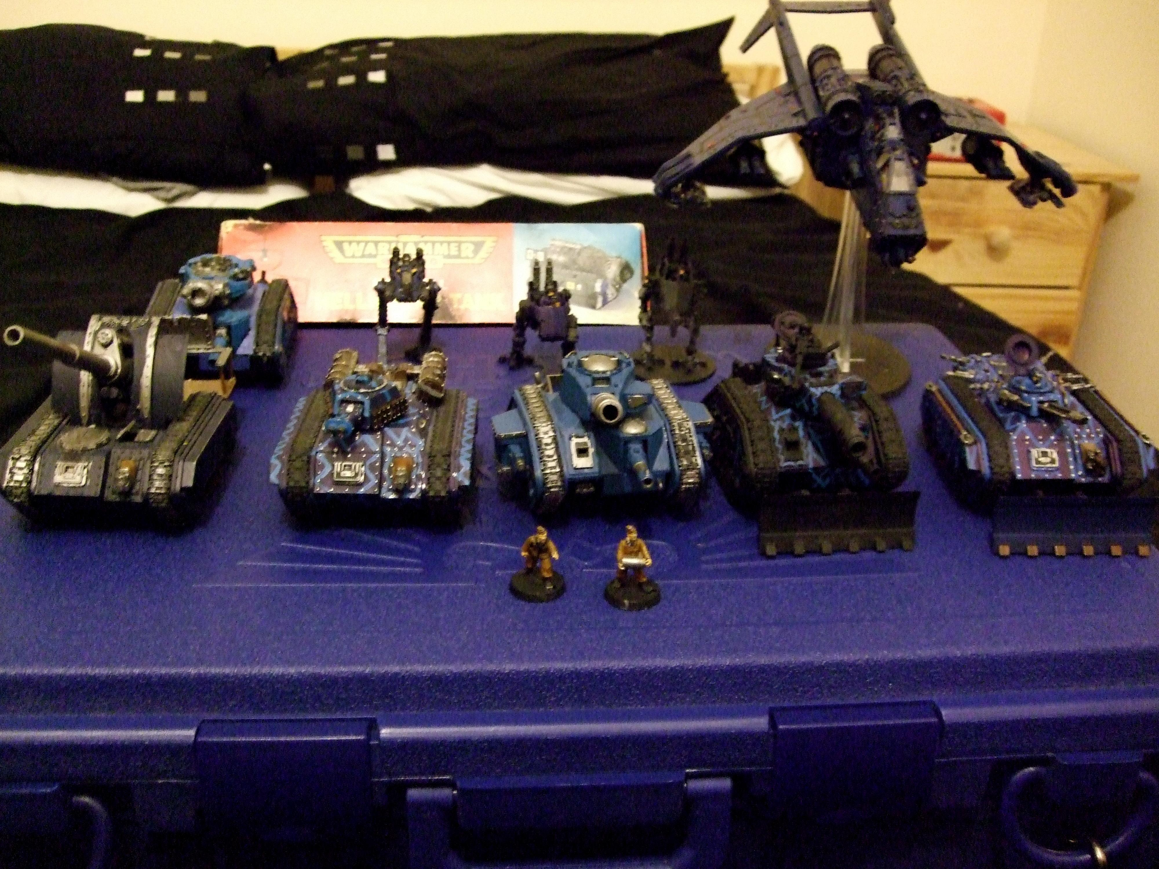 Imperial Guard, Tanks through the ages
