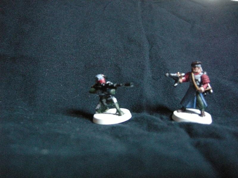 Blurred Photo, Rogue Trader, Snipers