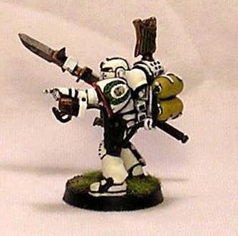 Space Marines, White Iron Marines