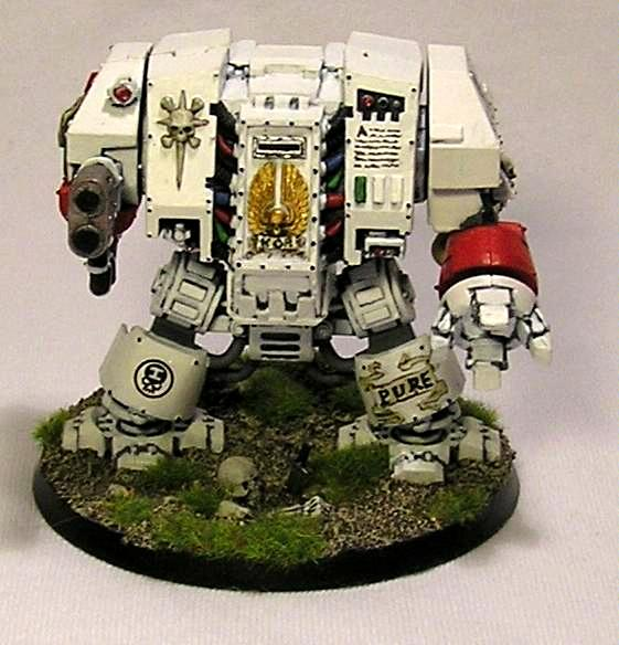 Dreadnought, Space Marines, White Iron Marines