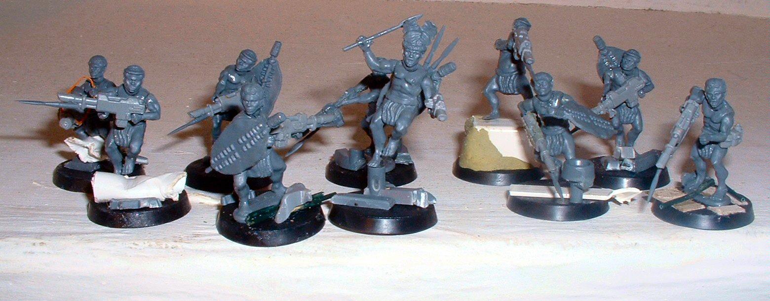Conversion, Imperial Guard, Wargames Factory, Zulu