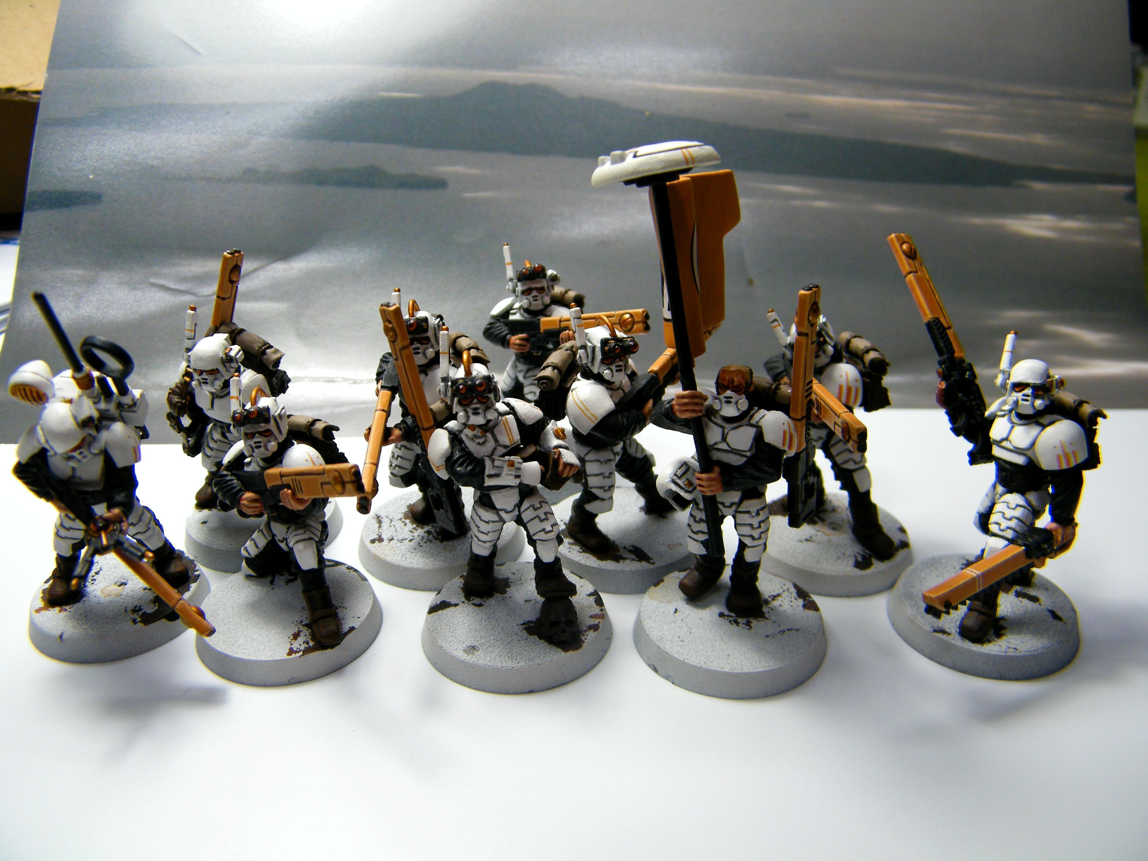 Army, Conversion, Empire, Guevesa, Imeprial Guard, Kitbash, Tau, Warhammer 40,000