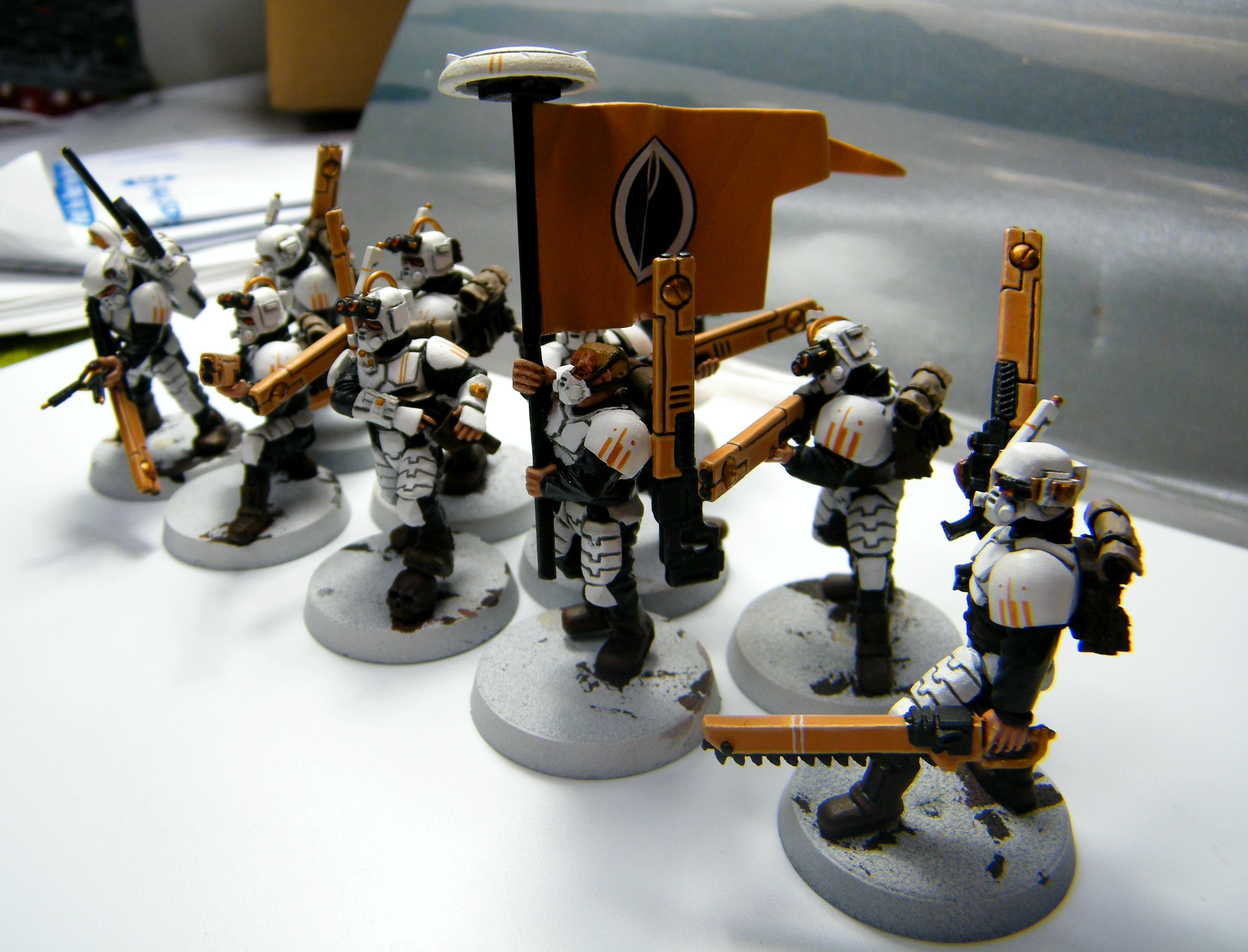 Army, Conversion, Empire, Guevesa, Imeprial Guard, Imperial Guard Conscrips, Kitbash, Tau, Warhammer 40,000