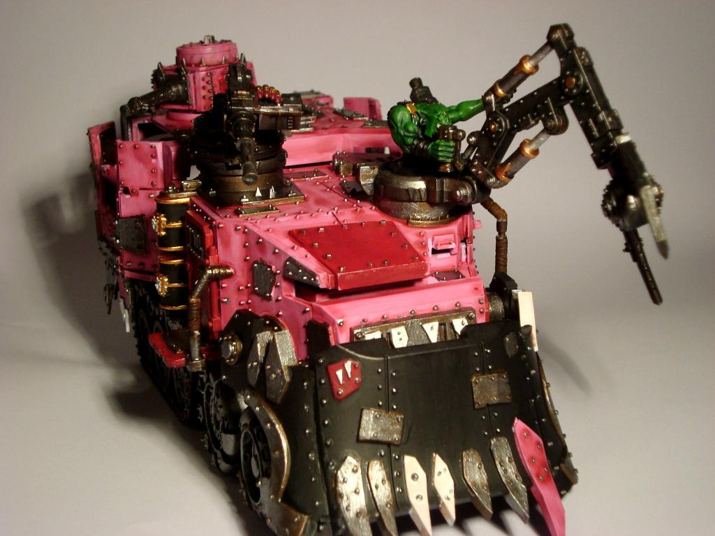 Battlewagon, Orks, Pink