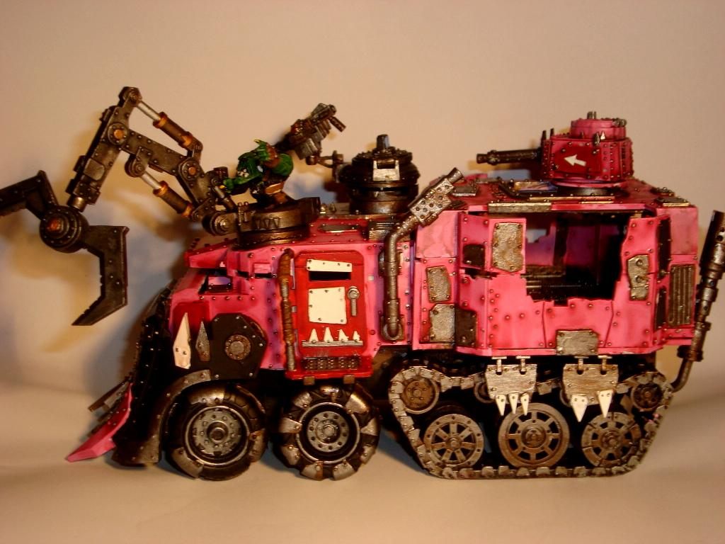 Battlewagon, side view of battlewagon