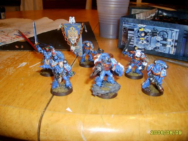Command Squad, Imperium, Old School, Ultramarines