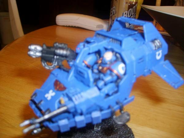 Imperium, Land Speeder, Ultramarines