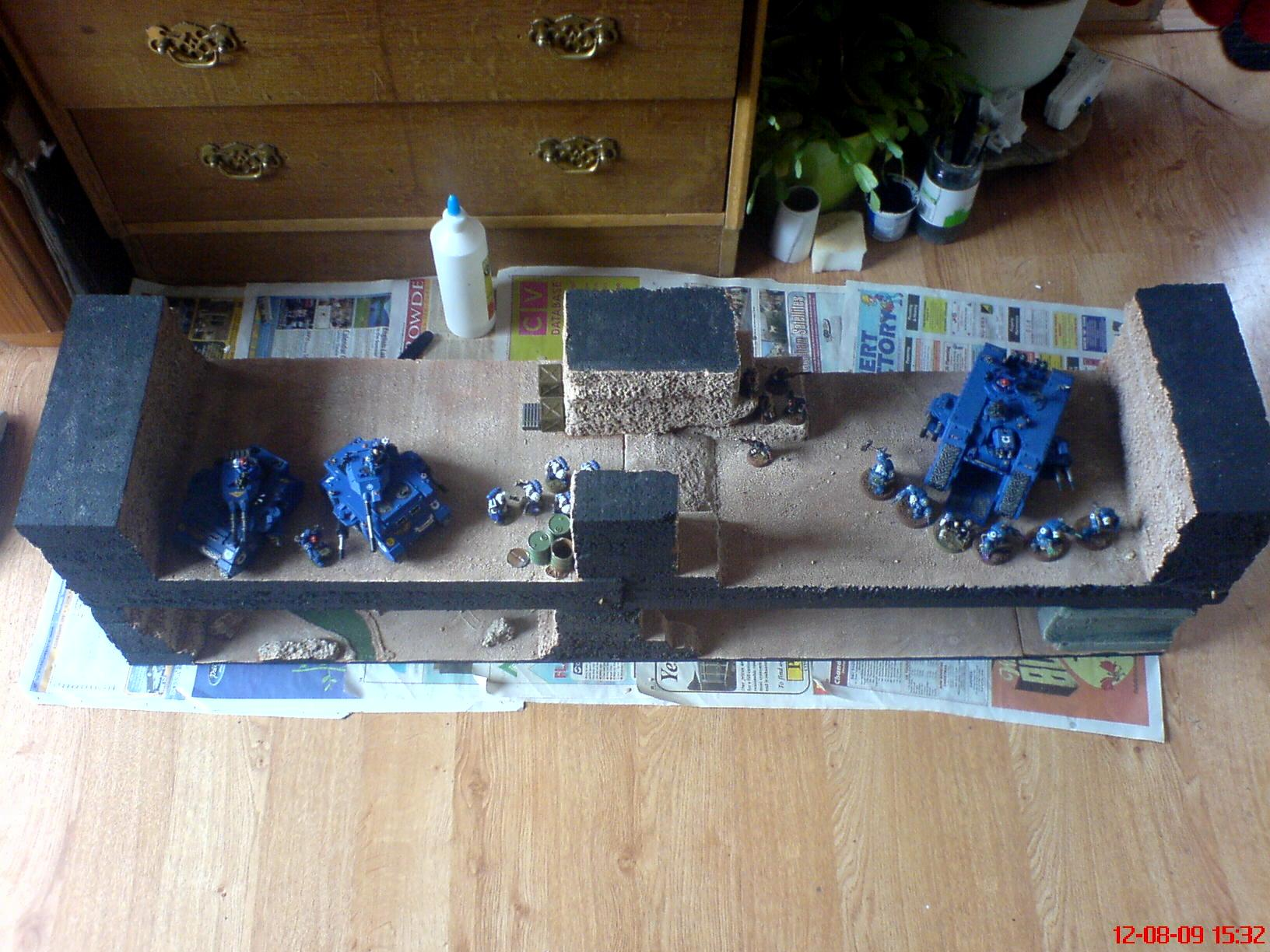 Display, Reaper6, Terrain, Ultramarines
