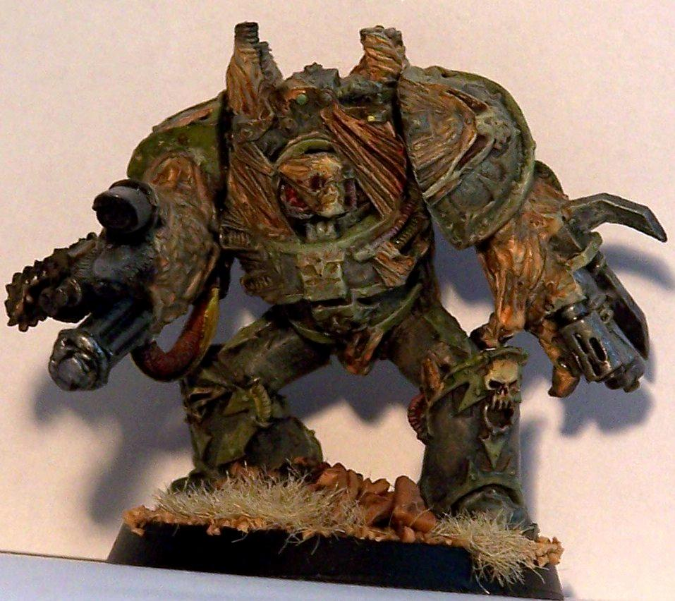 Chaos, Chaos Space Marines, Dirty, Nurgle, Obliterators, Silvermk2, Warhammer 40,000