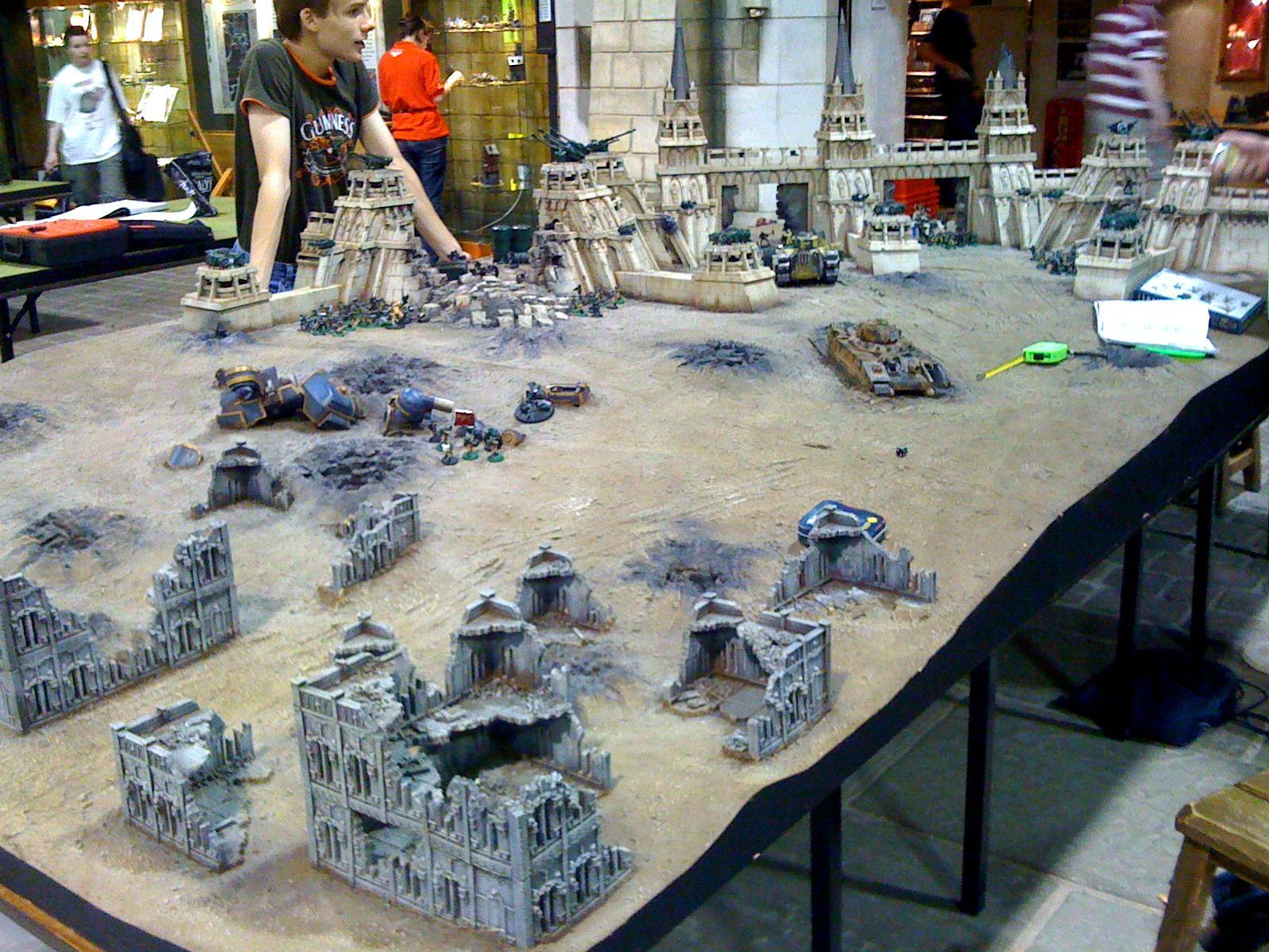 Ruins, Terrain, Warhammer World