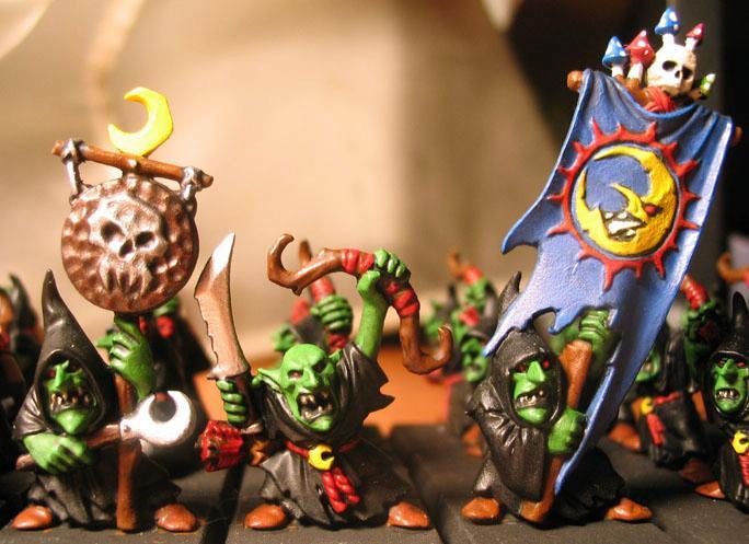 Goblins, Night, Pass, Skull
