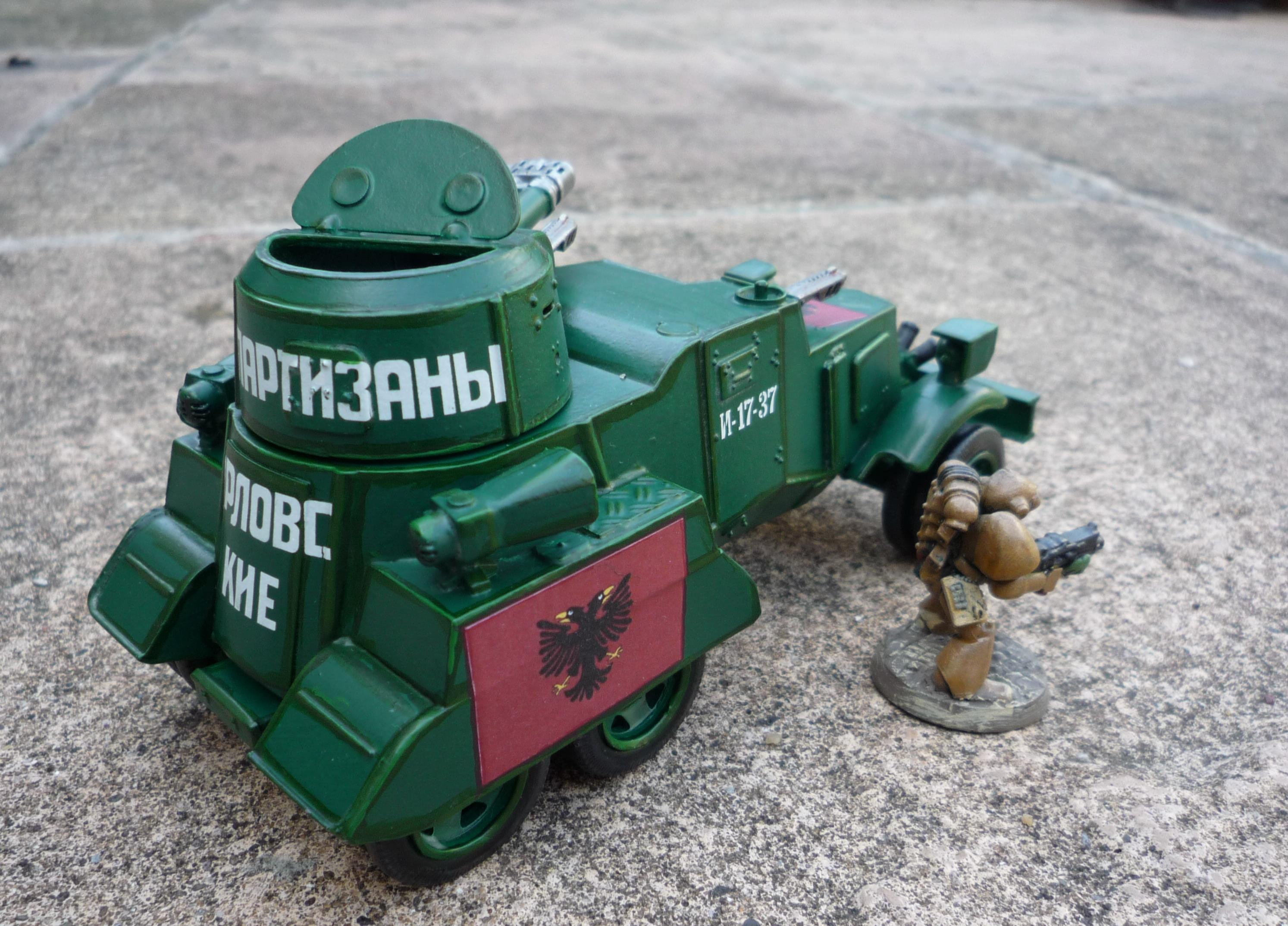 Armored Car, Conversion, Imperial, Imperial Guard, Soviet, Warhammer 40,000