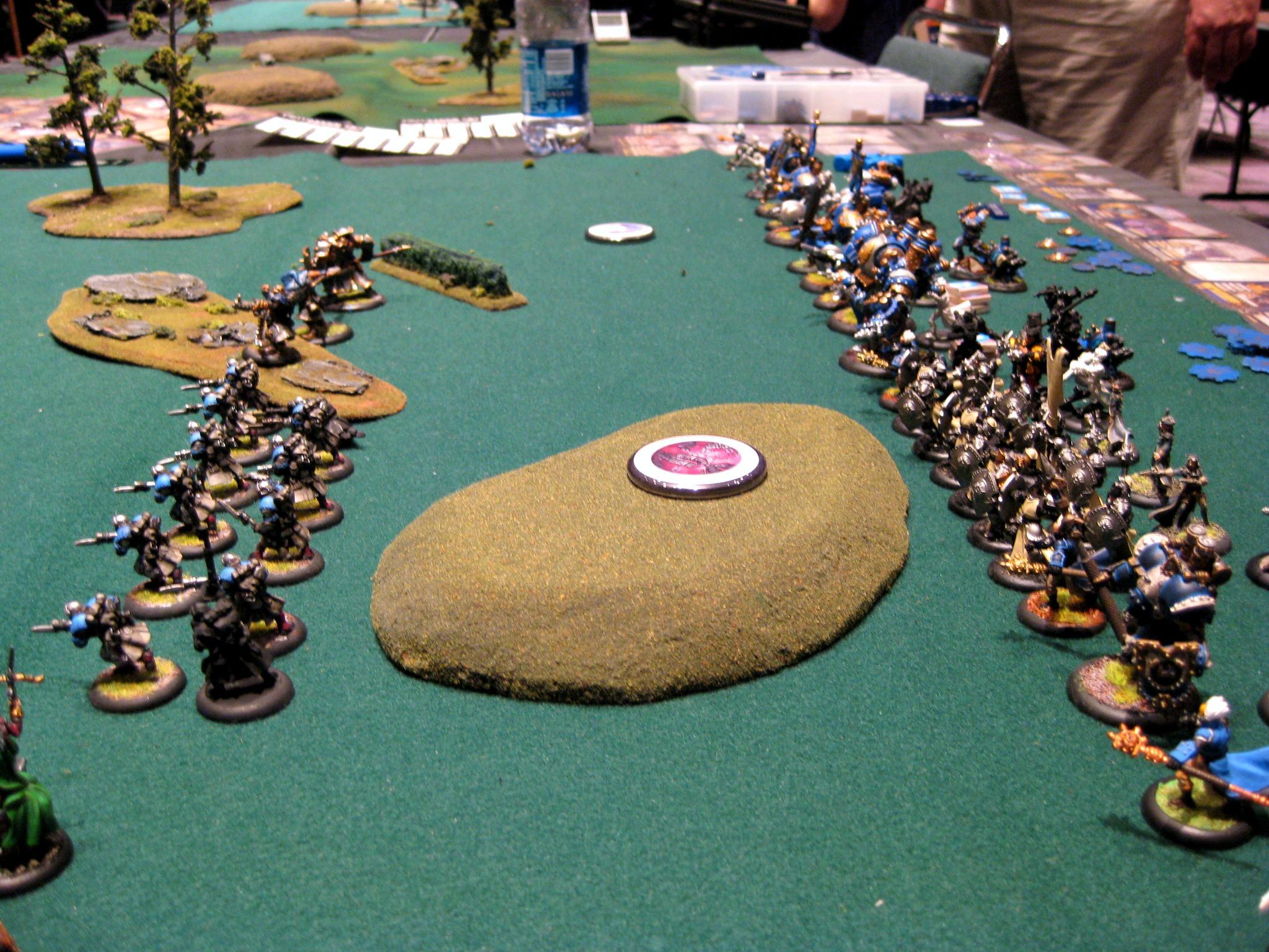 Gencon, Warmachine, Total war 2k point shots