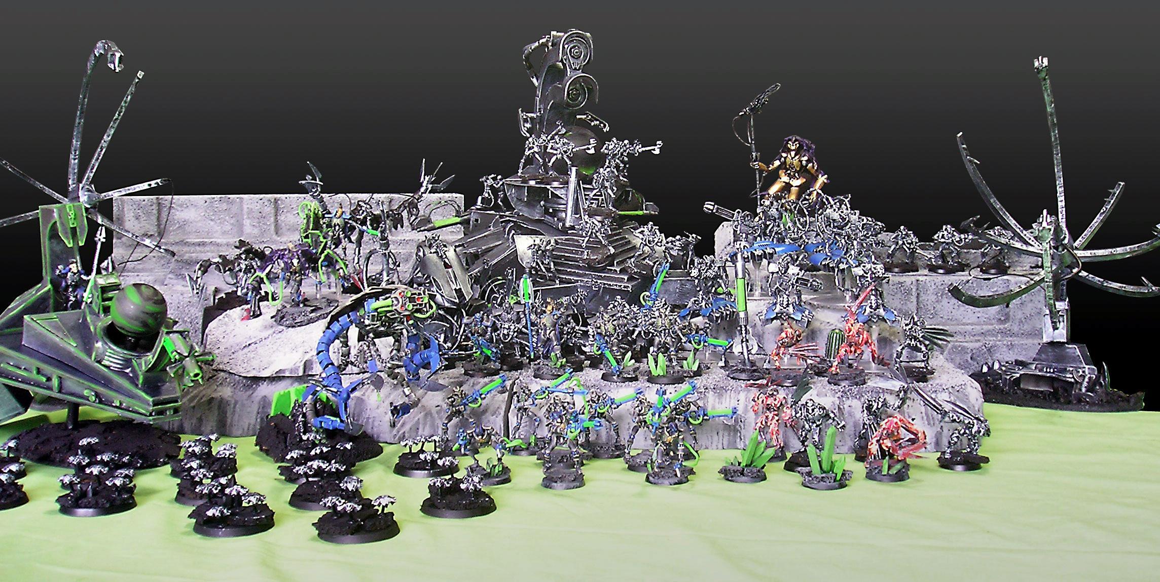 Apocalypse, Necrons, Necrosphere, Scratch Build