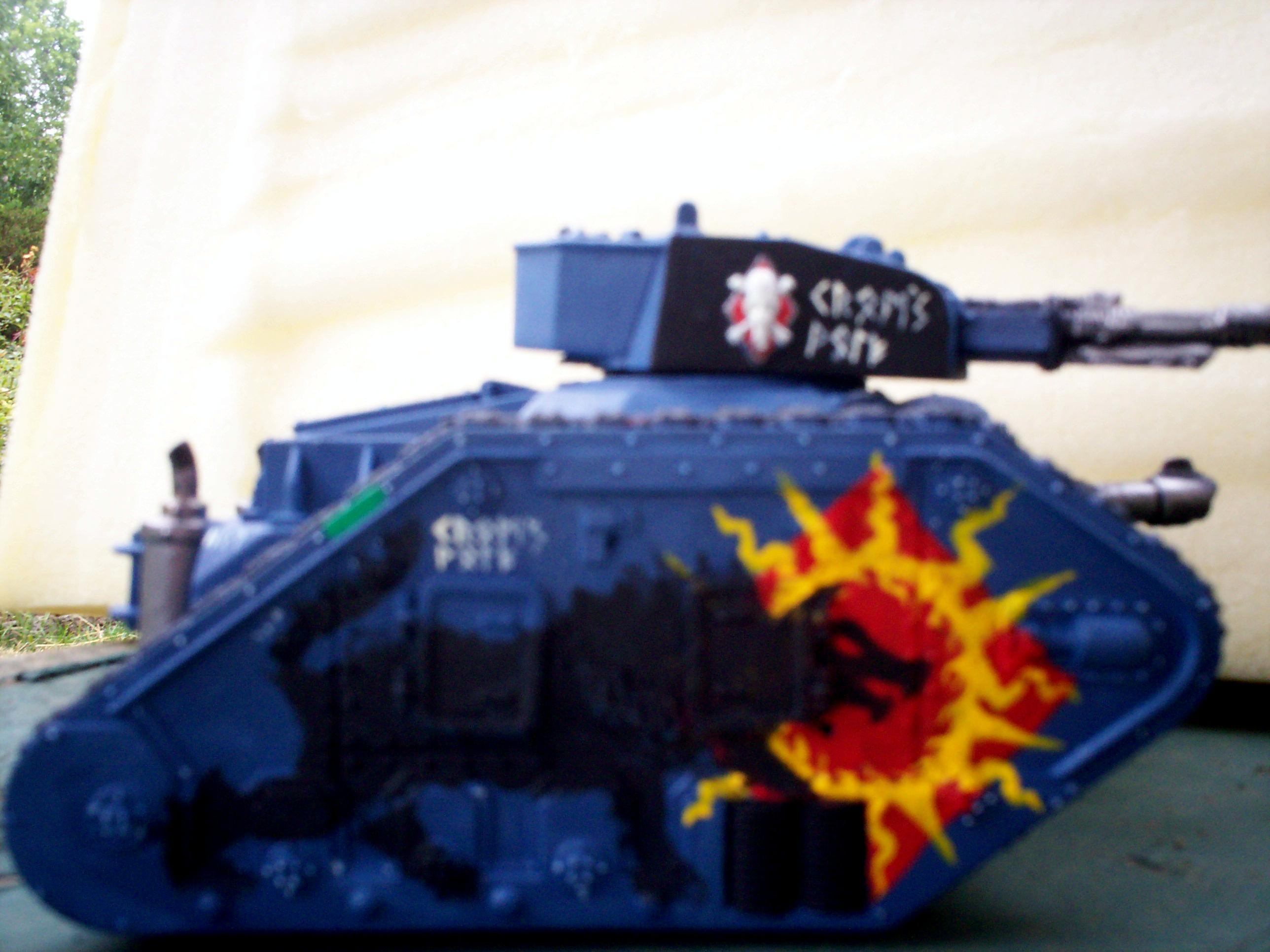 Freehand, Imperial Guard, Leman Russ