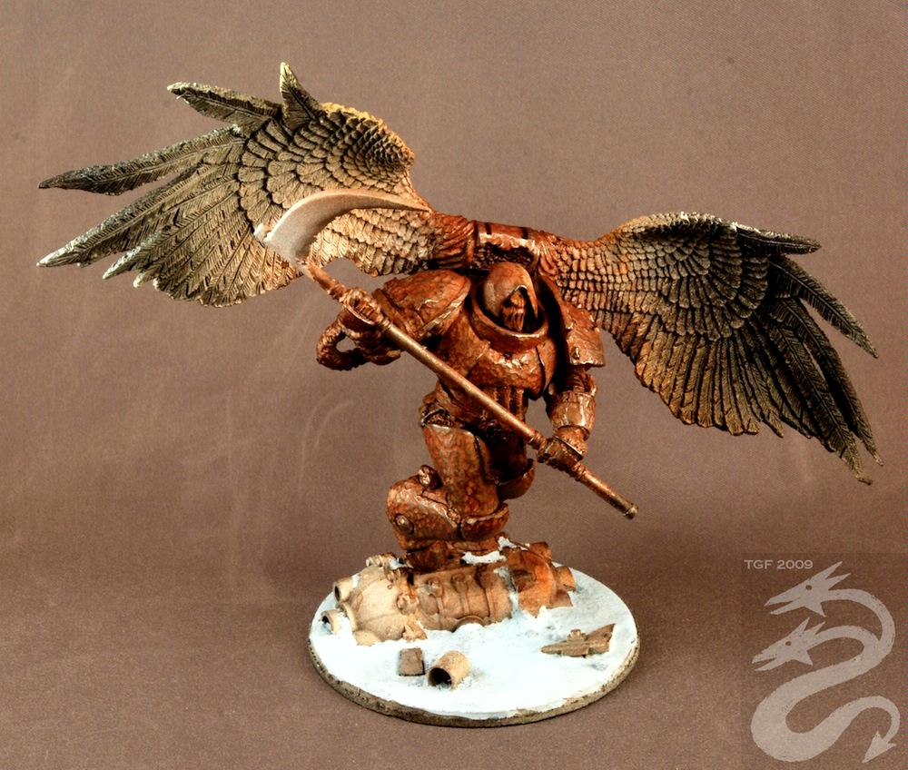 Airbrush, Chaos Space Marines, Daemon Prince, Winged