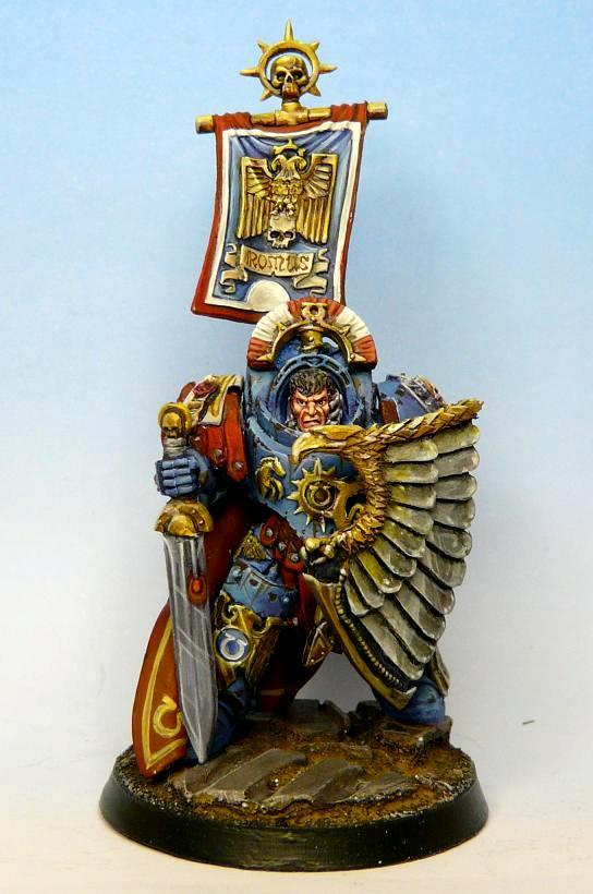 Conversion, Romans, Space Marines, Terminator Armor, Ultramarines, Warhammer 40,000