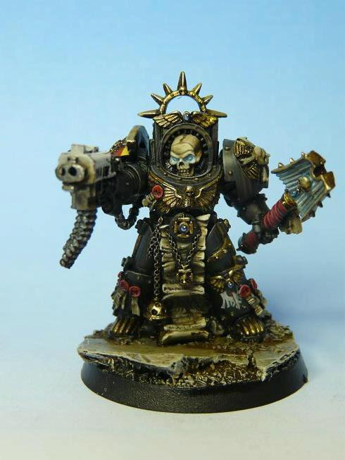 Chaplain, Raff Goodness, Raven Guard, Terminator Armor