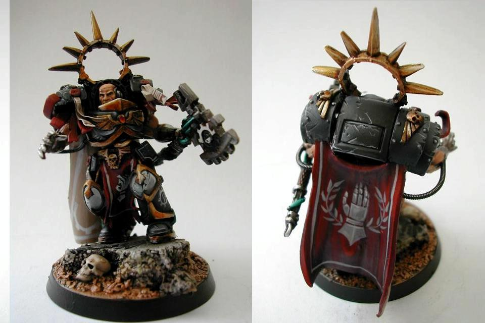 Horus Heresy, Iron Hands, Primarch, Space Marines, Warhammer 40,000
