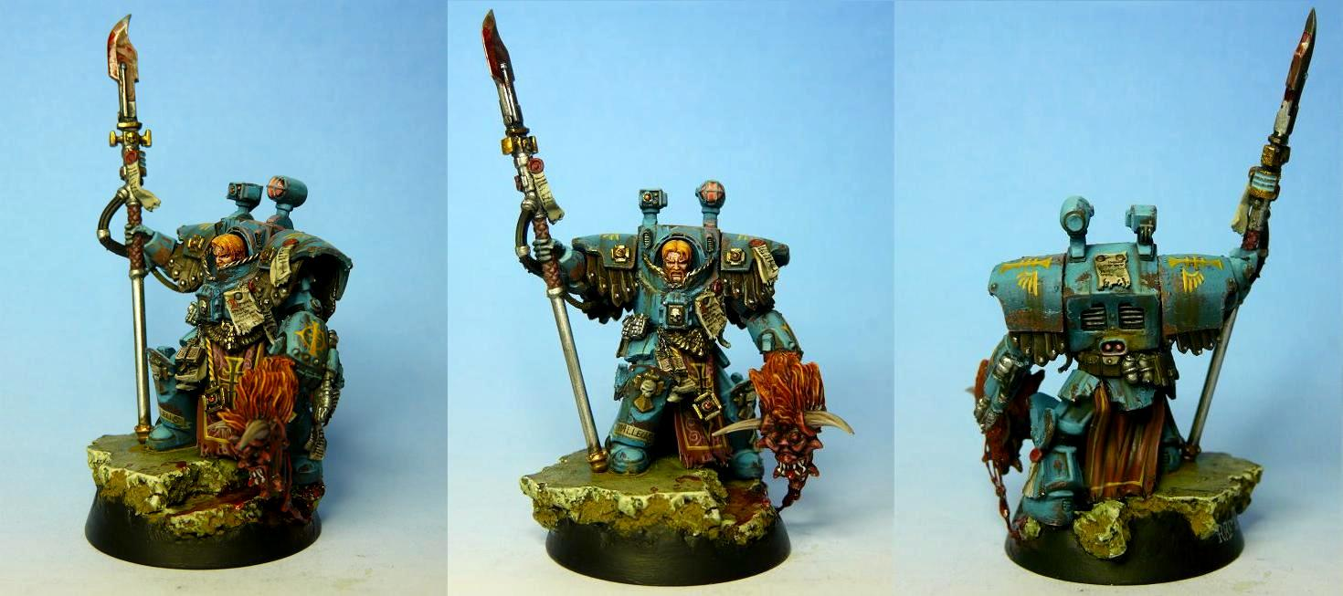Daemons, Inquisitor, Ordo Malleus, Terminator Armor, Warhammer 40,000