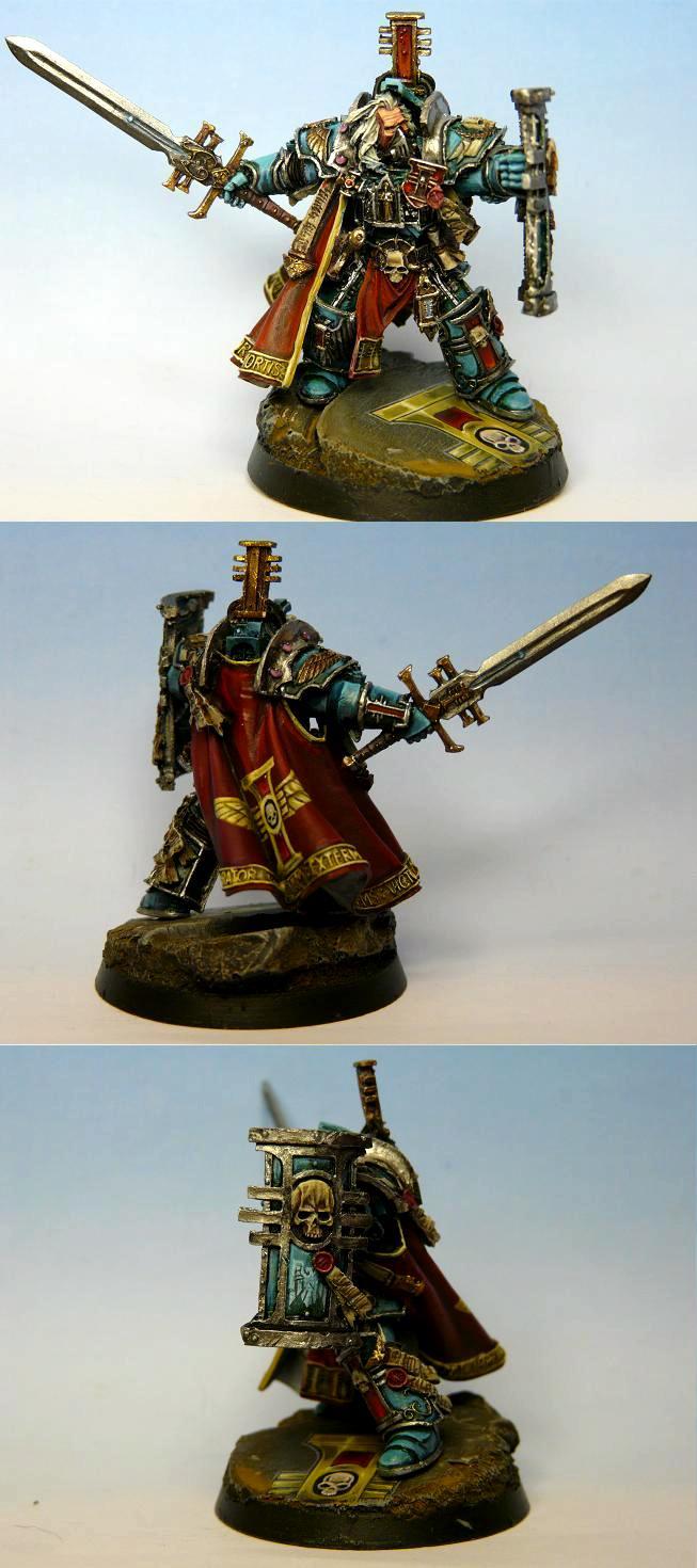 Hektor Rex, Inquisitor, Terminator Armor, Warhammer 40,000