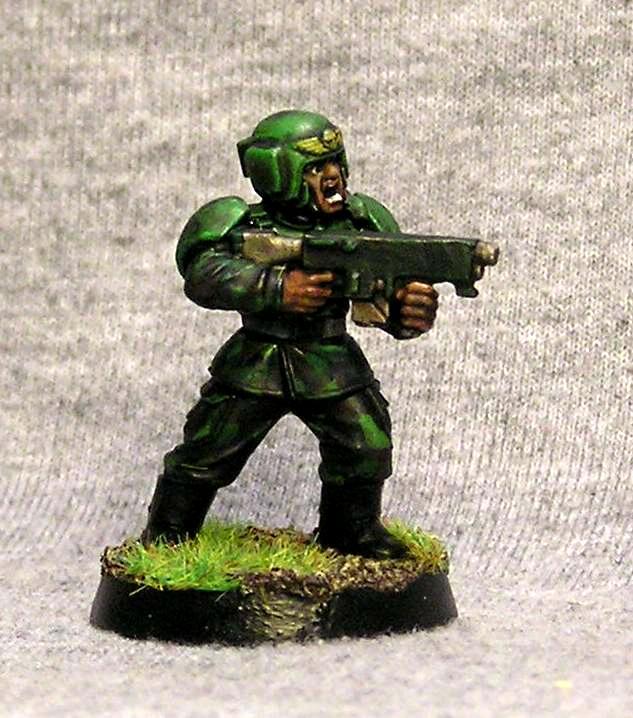 Imperial Guard, Veteran, Warhammer 40,000