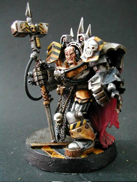 Chaos Space Marines, Horus Heresy, Iron Warriors, Perturabo, Primarch