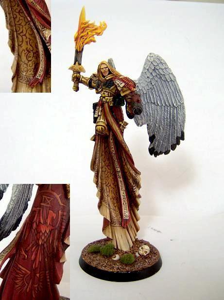 Angel, Blood Angels, Horus Heresy, Primarch, Sanguinius, Winged