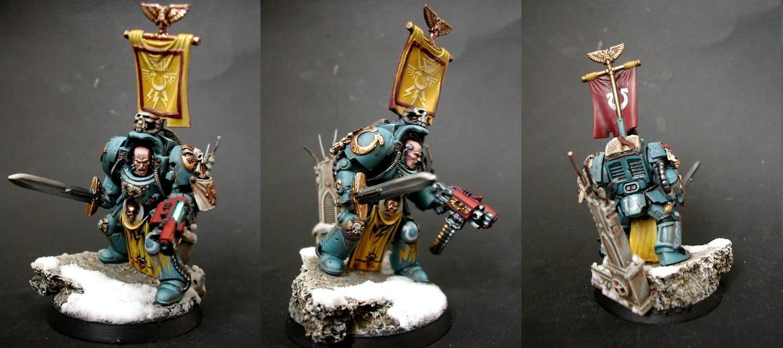 Librarian, Space Marines, Ultramarines, Warhammer 40,000