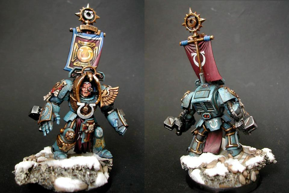 Space Marines, Terminator Armor, Ultra Marines, Ultramarines, Warhammer 40,000