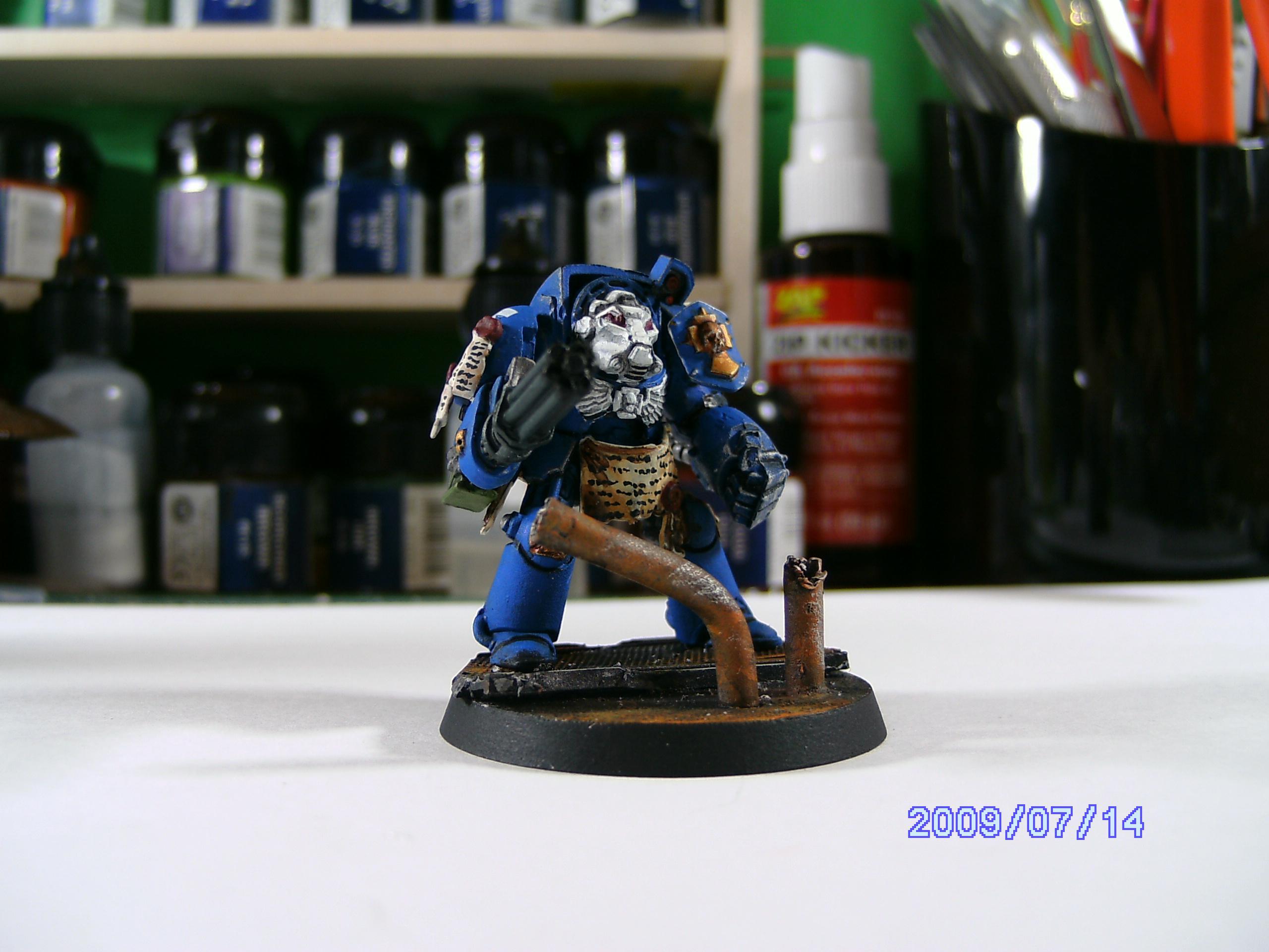 Space Hulk, Terminator Armor, Ultramarines