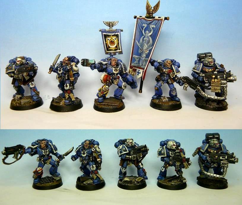 Space Marines, Tyranid War, Ultramarines, Veteran, Warhammer 40,000