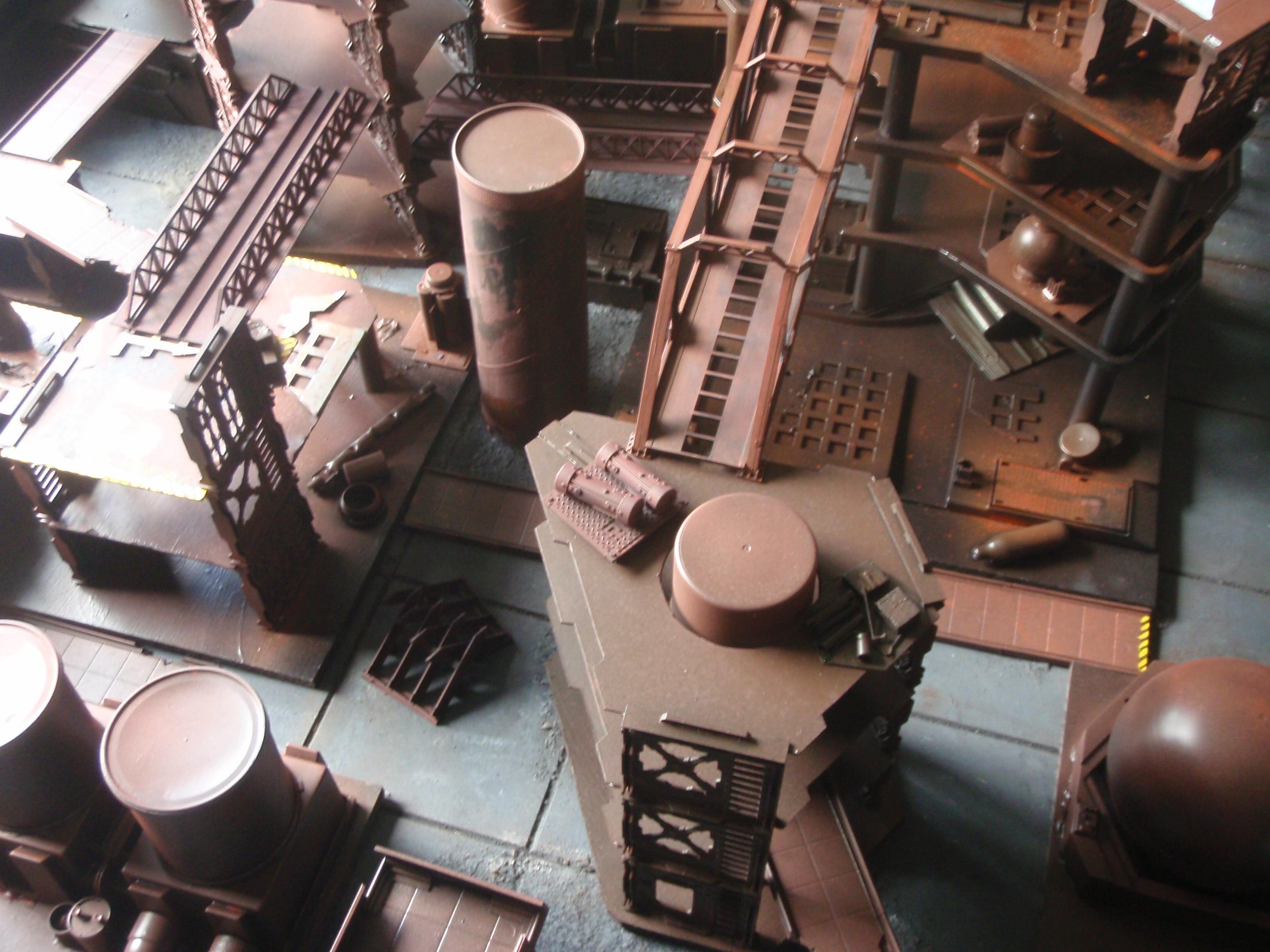 Industrial, Necromunda, Terrain, Urban