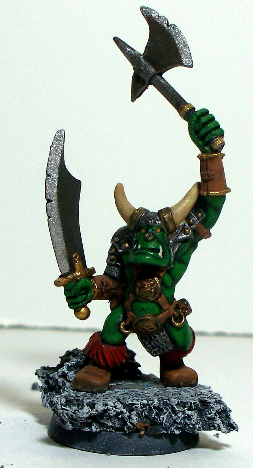 Old School, Black Orc Front
