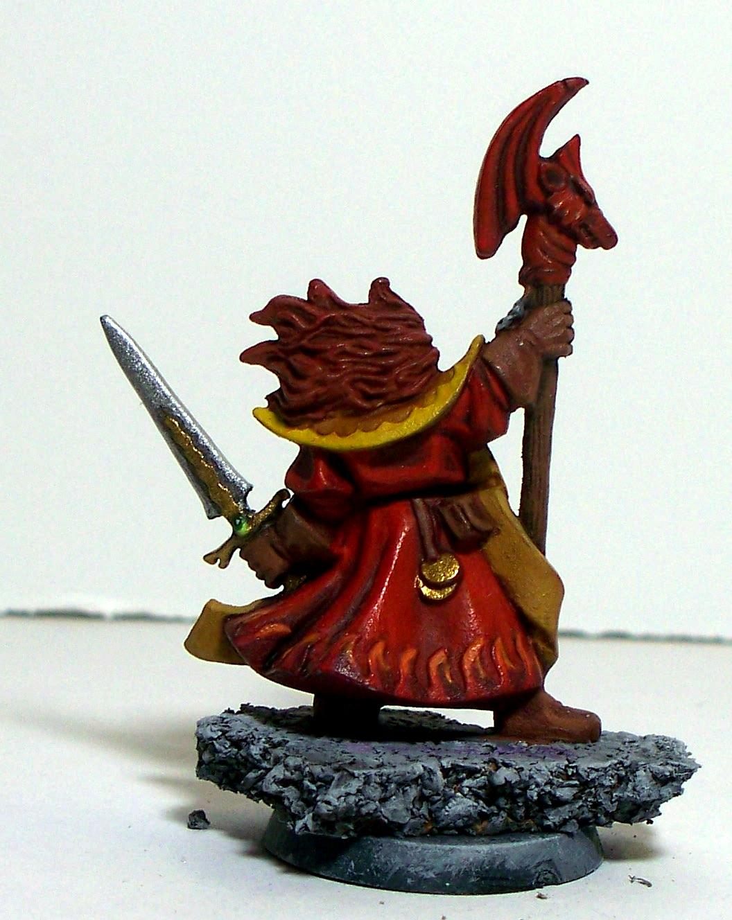 Fire Wizard Back