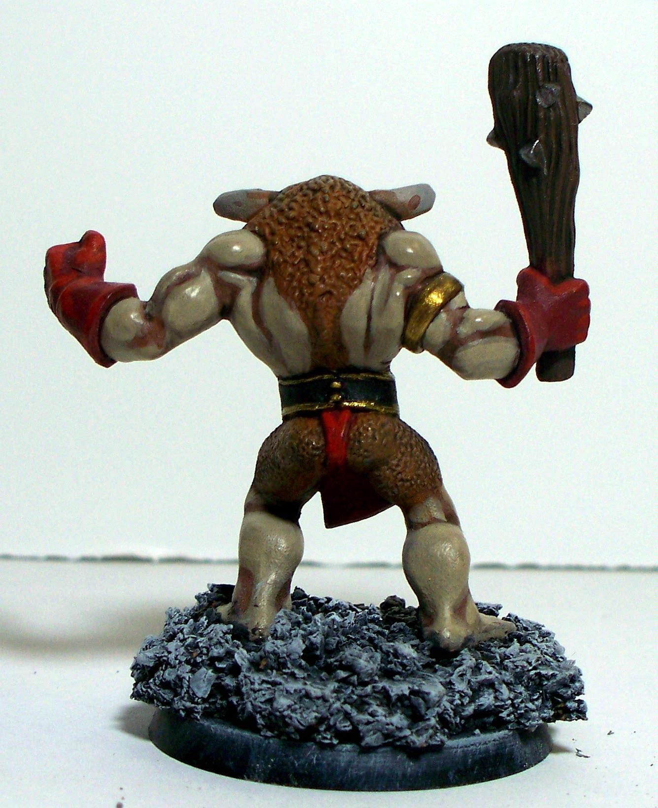 Minotaur Back